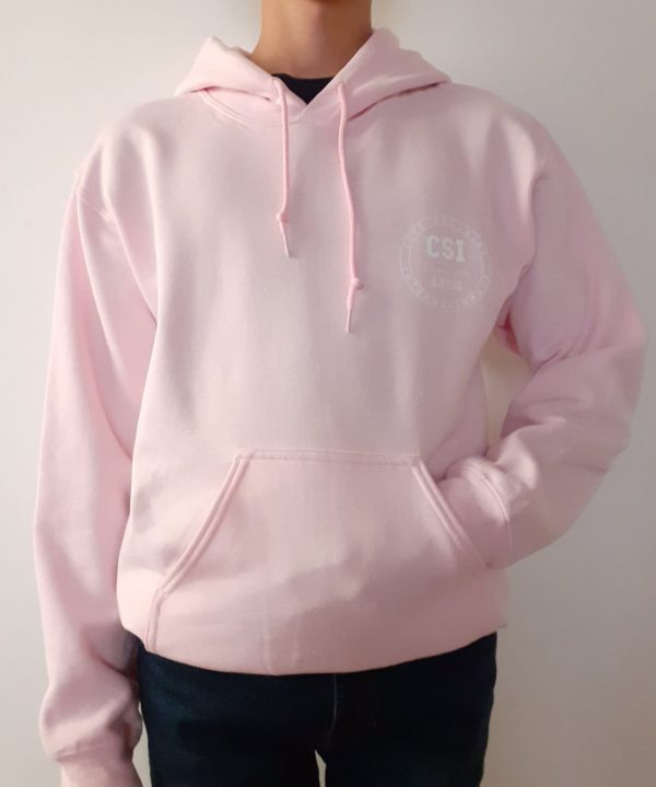 Pull Capuche CSI Light Pink